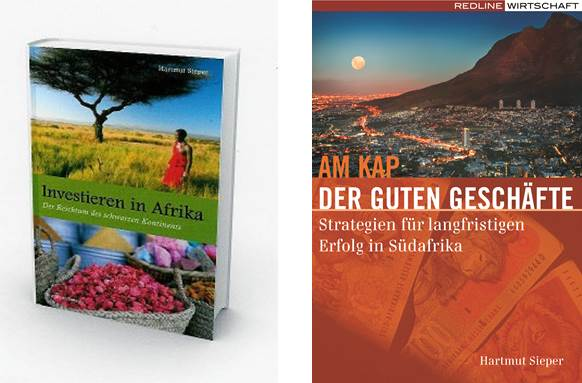 Books on Africa by Hartmut Sieper
