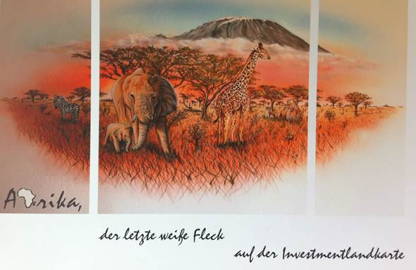 Investment-Landkarte Afrika