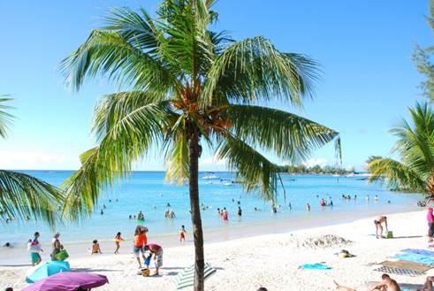 Beach of Pereybere, Mauritius