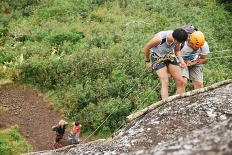 Mountain climbing in Mauritius