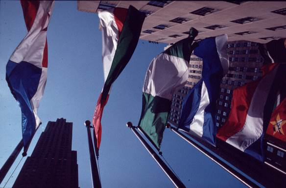 Flags, New York City