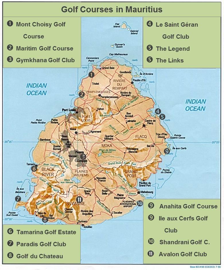 Golf Courses in Mauritius