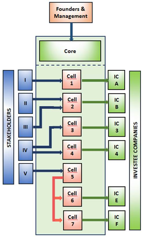 Structure of a Protected Cell Company