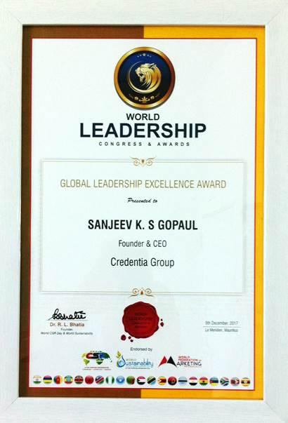 Sanjeev Gopaul Award 1